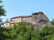 Het kasteel van Orava Royalty-vrije Stock Foto