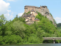 Het kasteel van Orava Royalty-vrije Stock Foto's