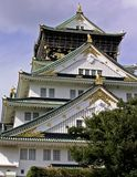 Het Kasteel van Osaka stock foto's