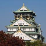 Het Kasteel van Osaka Royalty-vrije Stock Foto