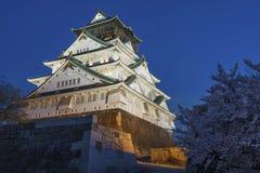 Het Kasteel van Osaka in Japan royalty-vrije stock afbeeldingen