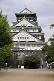 Het Kasteel van Osaka in Japan Stock Foto