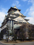 Het Kasteel van Osaka - Japan Royalty-vrije Stock Foto