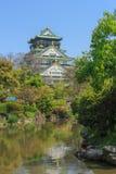 Het Kasteel van Osaka, Japan royalty-vrije stock foto's