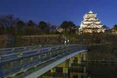 Het Kasteel van Osaka in Japan stock afbeeldingen