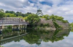 Het kasteel van Osaka of Osaka-PB in Japan Royalty-vrije Stock Foto