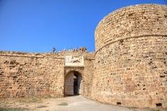 Het Kasteel van Othello in Famagusta Royalty-vrije Stock Foto