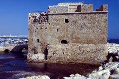 Het Kasteel van Paphos Stock Foto