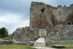 Het kasteel van Patras Royalty-vrije Stock Afbeelding