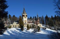 Het kasteel van Peles royalty-vrije stock fotografie