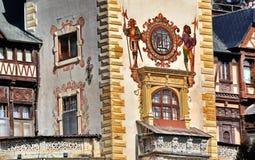 Het kasteel van Peles royalty-vrije stock foto