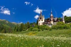 Het Kasteel van Peles, Roemenië Royalty-vrije Stock Foto's
