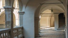 Het Kasteel van Pieskowaskala Stock Afbeeldingen