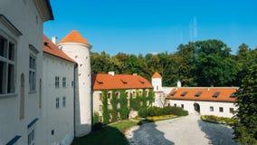 Het Kasteel van Pieskowaskala Royalty-vrije Stock Afbeeldingen