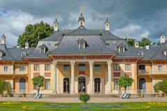 Het kasteel van Pillnitz royalty-vrije stock fotografie