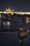 Het Kasteel van Praag stock foto