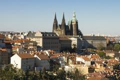 Het kasteel van Praag royalty-vrije stock afbeelding