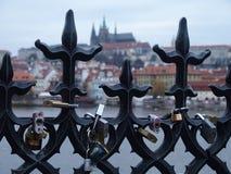 Het Kasteel van Praag Royalty-vrije Stock Foto's