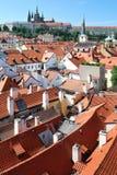 Het Kasteel van Praag, Praag (Prazsky hrad) stock afbeeldingen