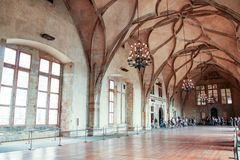 Het kasteel van Praag ` s, stock afbeelding