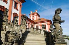 Het kasteel van Praag Troja stock fotografie
