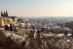 Het Kasteel van Praag in Tsjechische Republiek 2 Stock Afbeeldingen