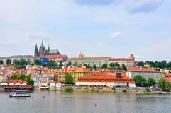 Het Kasteel van Praag, Tsjechische Republiek Royalty-vrije Stock Afbeeldingen