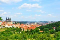 Het Kasteel van Praag, Tsjechische Republiek Royalty-vrije Stock Fotografie