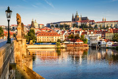 Het Kasteel van Praag, Tsjechische Republiek stock fotografie