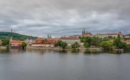 Het kasteel van Praag, Praag, Tsjechische Republiek, 2017 Juli Royalty-vrije Stock Fotografie