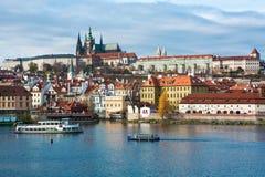 Het kasteel van Prag Stock Afbeelding