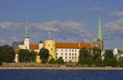 Het Kasteel van Riga Stock Foto
