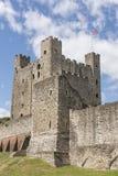 Het kasteel van Rochester in Kent, Engeland Stock Foto's
