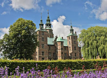 Het Kasteel van Rosenborg Stock Fotografie