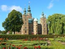 Het Kasteel van Rosenborg in Kopenhagen Stock Afbeeldingen