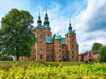 Het kasteel van Rosenborg in Kopenhagen Stock Foto