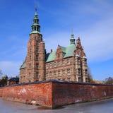 Het kasteel van Rosenborg, Kopenhagen, Denemarken Stock Afbeelding