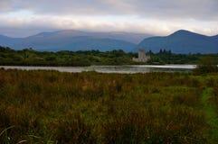Het kasteel van Ross in Killarney Stock Foto