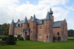 Het kasteel van Rumbeke (renaissance) stock afbeelding