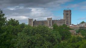 Het kasteel van Sabugal Stock Foto's