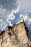 Het kasteel van San leo s Stock Afbeeldingen