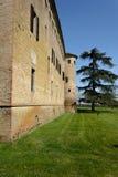 Het kasteel van San Pietro in Cerro Stock Afbeeldingen