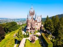 Het Kasteel van Schlossdrachenburg dichtbij Bonn royalty-vrije stock afbeeldingen