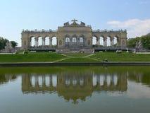 Het kasteel van Schoenbrunn stock foto's