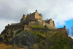 Het kasteel van Schotland - van Edinburgh stock afbeelding