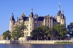 Het kasteel van Schwerin, Duitsland Stock Afbeeldingen