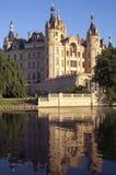 Het kasteel van Schwerin, Duitsland Stock Foto's