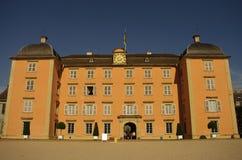 Het Kasteel van Schwetzingen, Heidelberg, Duitsland Stock Foto's
