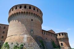Het Kasteel van Sforza. Dozza. Emilia-Romagna. Italië. Royalty-vrije Stock Fotografie