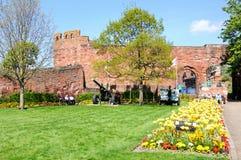 Het kasteel van Shrewsbury Royalty-vrije Stock Foto's